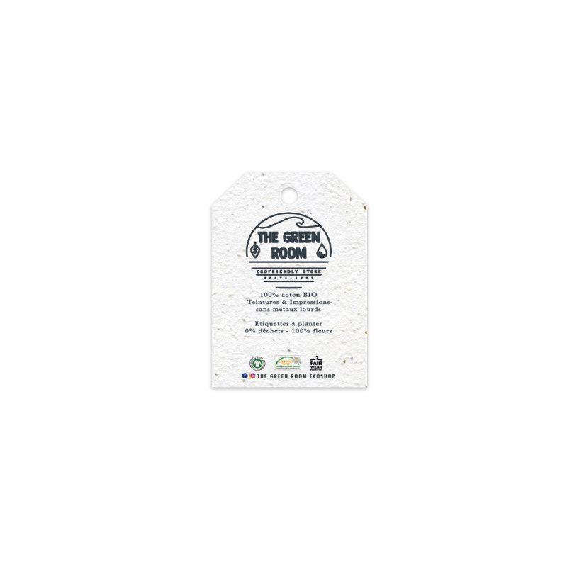 étiquette biseautée premium 250g